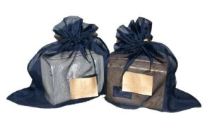 Modelo de sacola para guardar bolsa