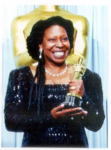 Oscar 1991 Whoopi Goldberg @ A.M.P.A.S.