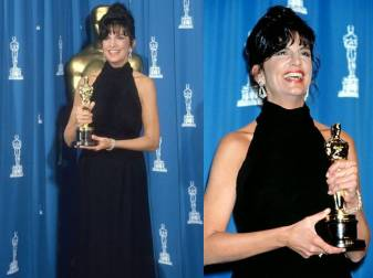Oscar 1992 Mercedes Ruehl veste Valentino