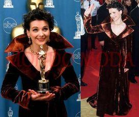Oscar 1997 Juliette Binoche veste Sophie Sitbon