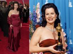 Oscar 2001 Marcia Gay Harden veste Randolph Duke