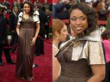 Oscar 2007 Jennifer Hudson veste Oscar de la Renta