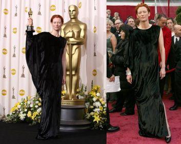 Oscar 2008 Tilda Swinton veste Lanvin