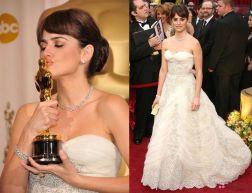 Oscar 2009 Penelope Cruz veste Balmain (vintage)