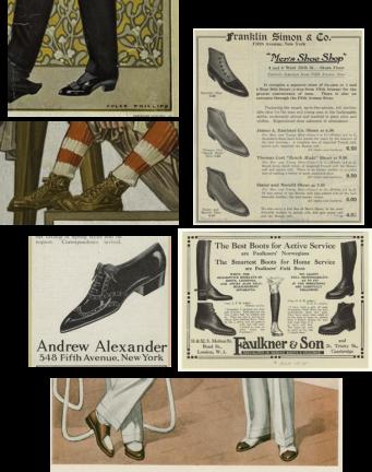 Modelos de calçados do período @ Divulgação