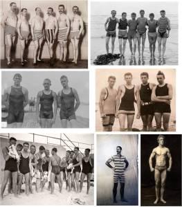 roupas de banho do inicio do século XX @ Divulgação