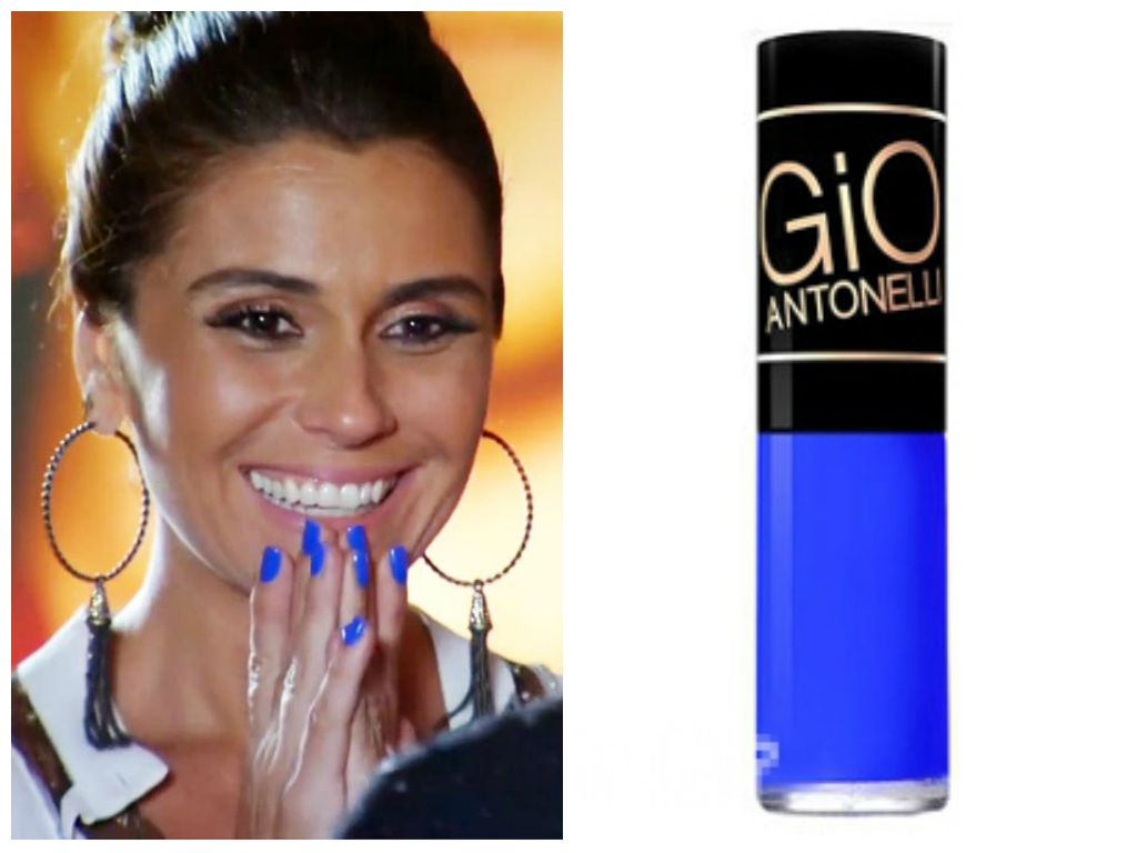 Giovanna Antonelli - Em Família - Esmalte Azul