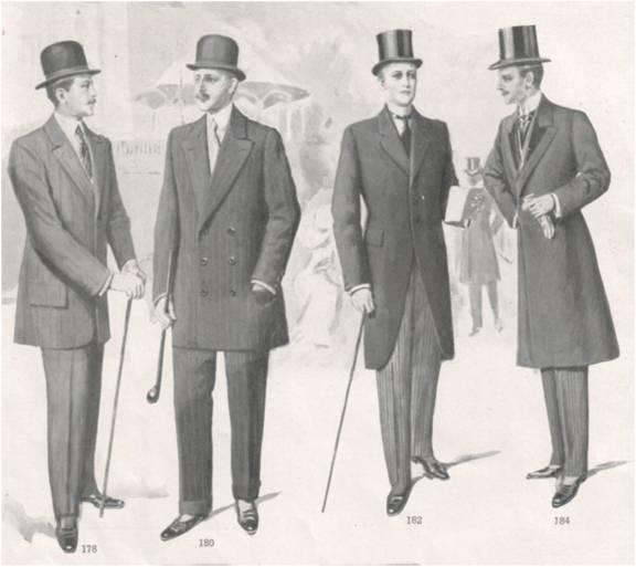 Ilustração do catálogo da C. A. Herpich Söhne - Inverno 1910/1911 @ Divulgação