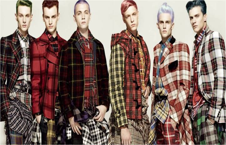 Moda masculina da segunda década do século XXI @ Divulgação