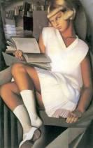Tamara-de-Lempicka-Kizette-in-Pink-1926 @ Divulgação
