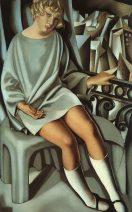 Tamara de Lempicka - Kizette on the Balcony @ Divulgação
