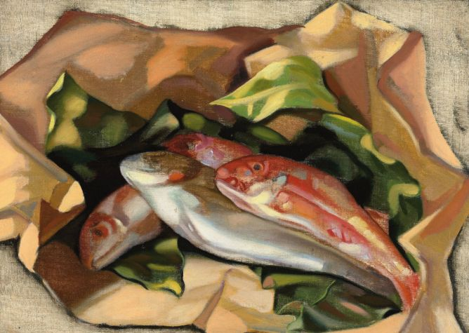 Tamara de Lempicka, Poissons, 1958 @ Photo by Cea - Flickr