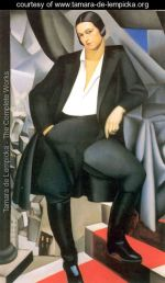 Tamara de Lempicks Portrait-of-the-Duchess-of-La-Salle -1925 @ courtesy www.tamara-de-lempicka.org