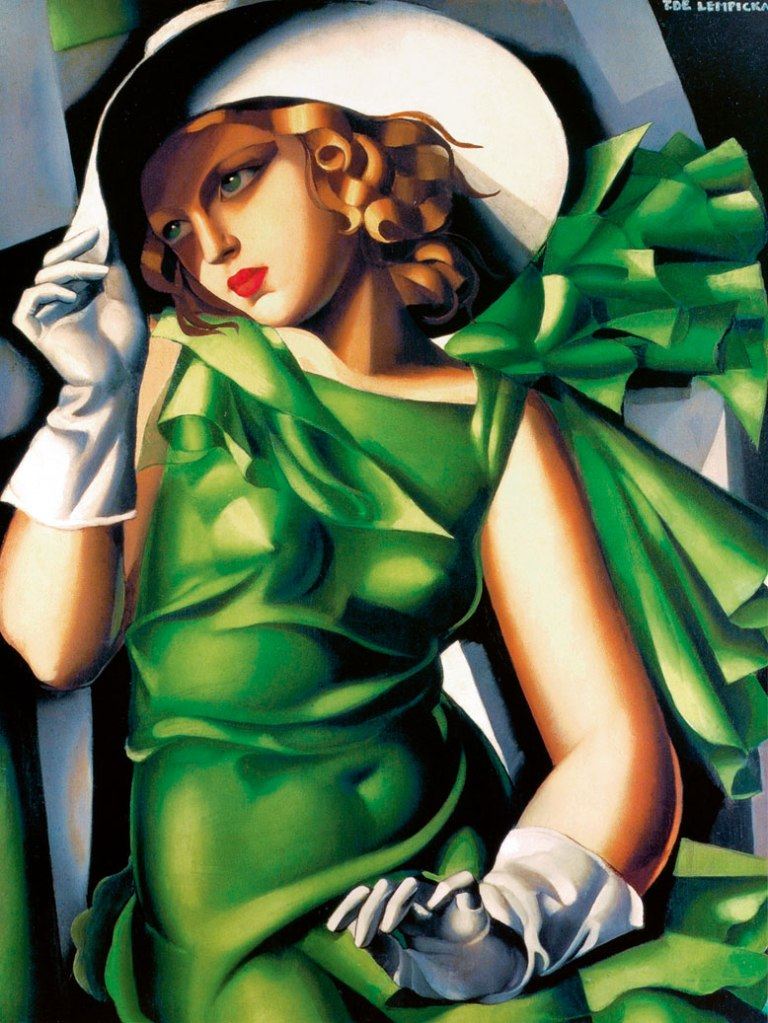 Tamara Lempicka - Young Lady with Gloves, 1930 @ Divulgação