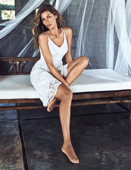 Gisele Bundchen for H&M Summer 2014
