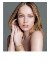 Raquel Zimmermann for My Dior Jewelry 2012 Campaign