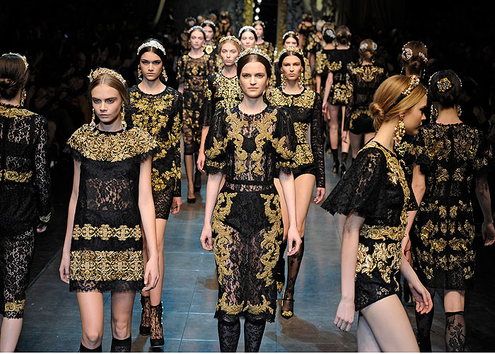Dolce & Gabbana Spring 2013 @ Getty Images