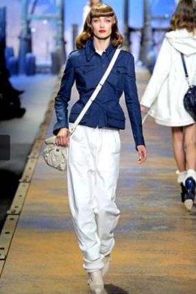 Calça Saruel da Dior - Primavera-Verão 2012 @ Getty Images