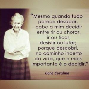 Cora Coralina @ reprodução