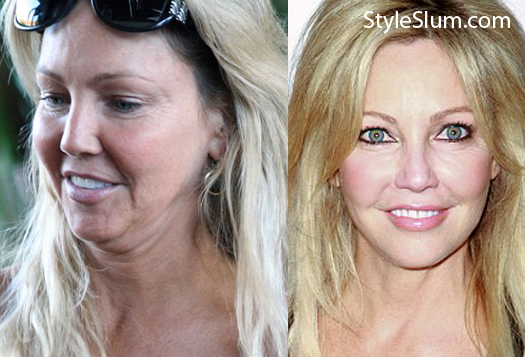 Heather Locklear Sem Maquiagem