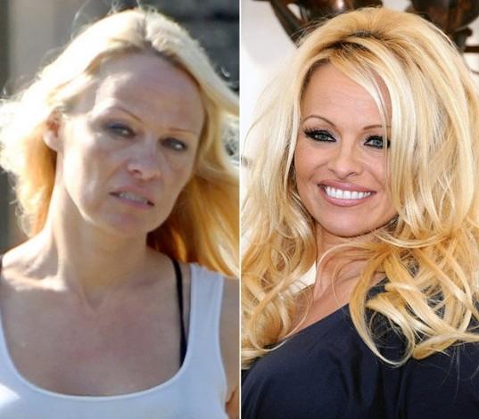Pamela Anderson Sem Maquiagem