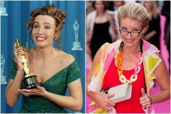 Emma Thompson em 1993 e hoje