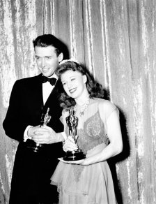 Oscar 1941 Ginger Roger (Kitty Foyle) @ AP