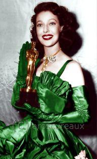 Oscar 1948 Loretta Young (Ambiciosa) @ laroscureaux