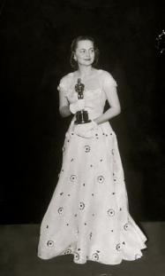 Oscar 1950 Olivia de Havilland (Tarde Demais) @ AP