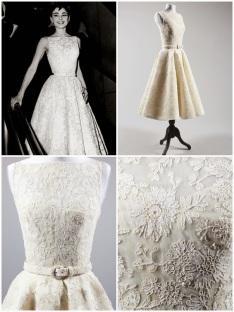 Oscar 1954 Audrey Hepburn (A Princesa e o Plebeu) veste Givenchy @ AP