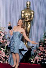 Oscar 1989 Jodie Foster (Acusados) veste modelo sob encomenda @ Getty