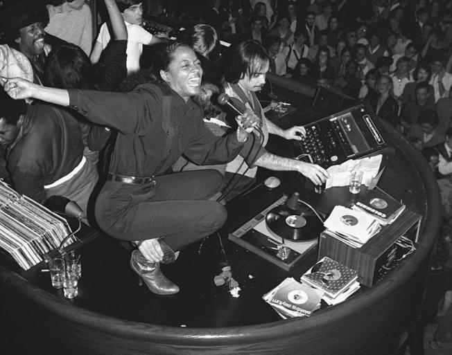 Studio 54 Diana Ross (1980) @ Reprodução