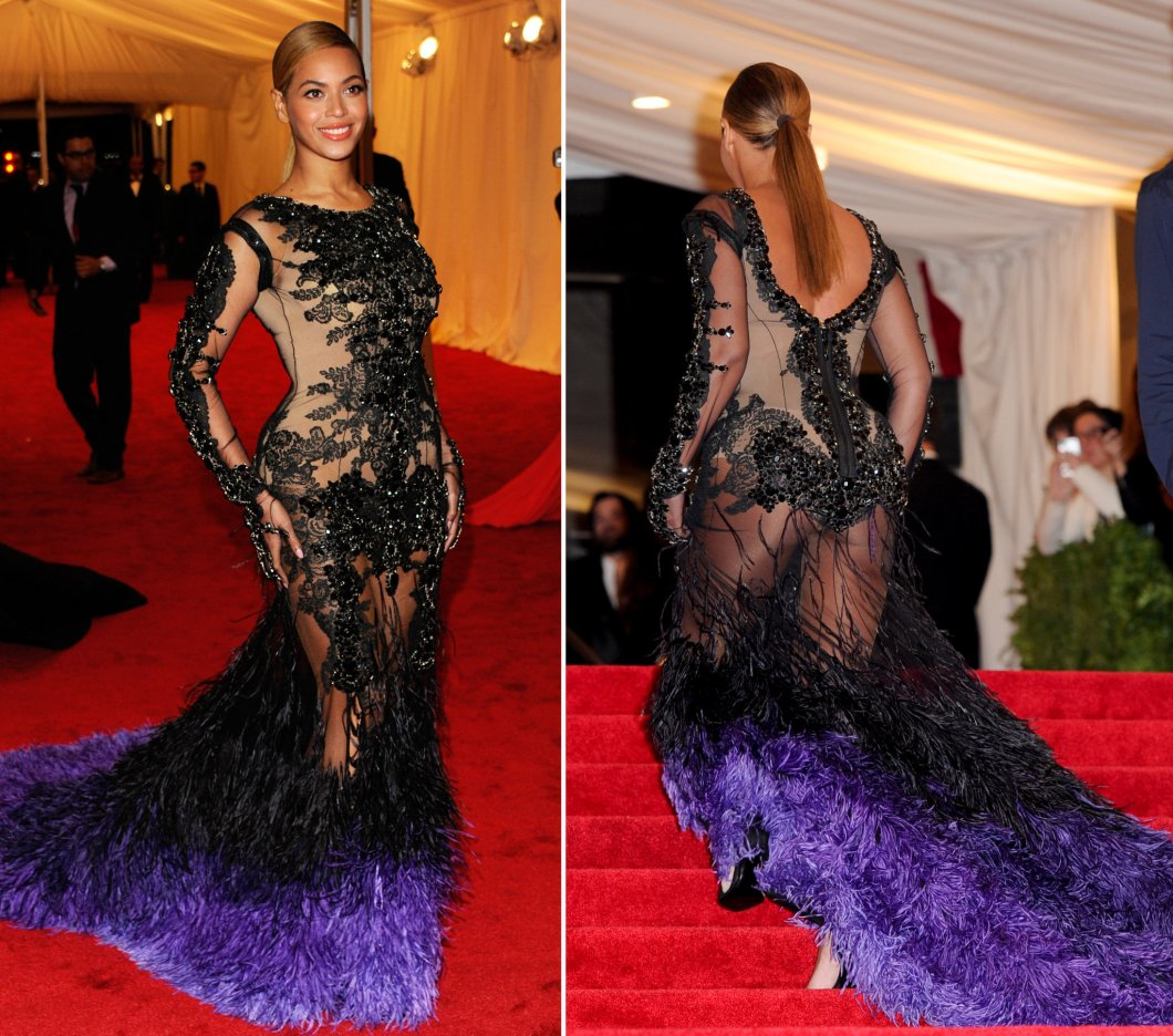 Beyonce - MET Gala 2012 - Givenchy @ Getty