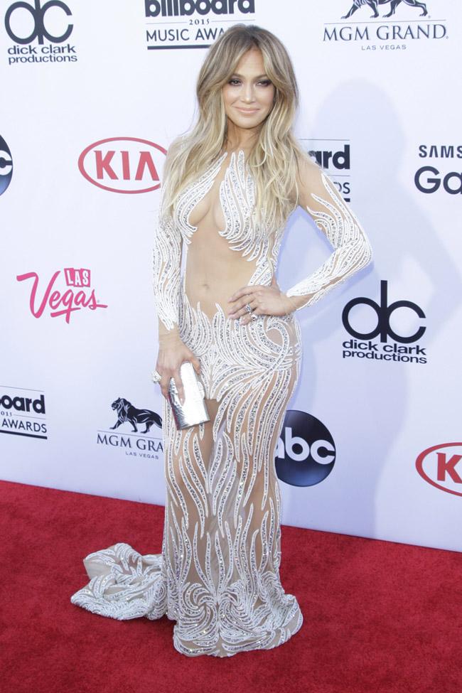 Jennifer Lopez - Billboard Music Awards 2015 - Charbel Zoe @ Phil Stafford - Shutterstock.com