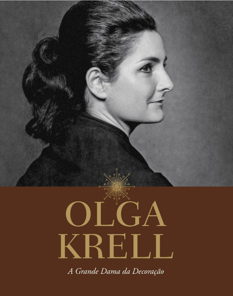 Livro Olga Krell - A Grande Dama da Decoração @ Divulgação