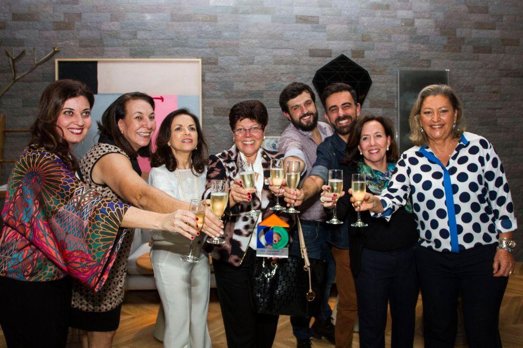 Prêmio Casa Cor Campinas 2015 Elaine Carvalho, Sueli Cardoso, Fernanda Podolsky, Solange Tannuri, Thiago Soares, Maycon Flamarion, Barbara Di Monaco e Stella Tozo @ Fernanda Tozo