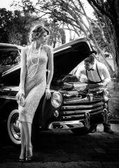 vestido Vitorino Campos e clutch Isla (KÉR UNIQUE LIFE), colares e pulseiras FERNANDA DE PAULA | ele ACERVO