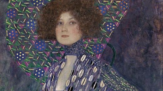 Emilie Louise Flöge, por Gustav Klimt ©Reprodução