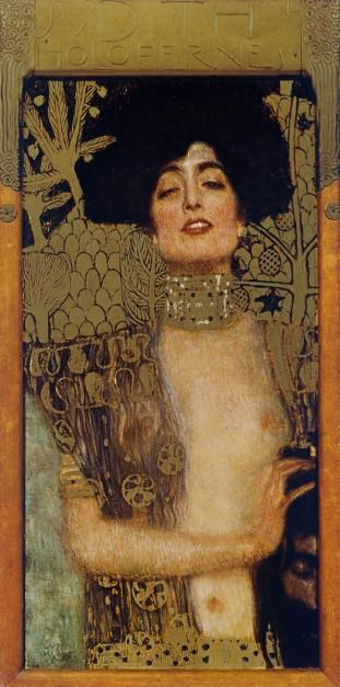 Gustav Klimt, Portrait of Emilie Flöge @ reprodução