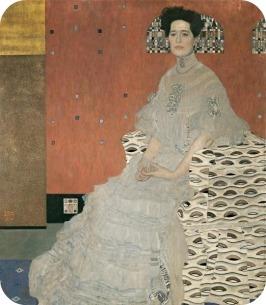 Gustav Klimt, Portrait of Emilie Flöge @ reprodução2