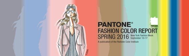 Pantone - Fashion Color Report Spring 2016 @ reprodução