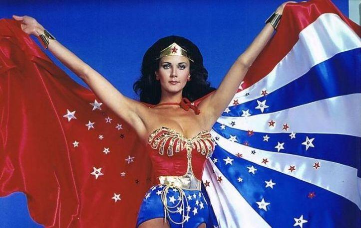 Lynda Carter foi a Mulher Maravilha 1975-1977 @ divulgação