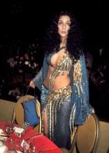 Cher em 1974 @ Reprodução