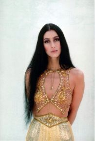 1979 Cher-Strong-Enough-Book-Cover-Crop-Tops