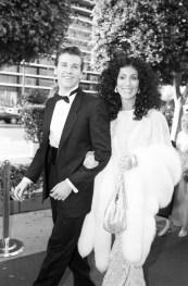 1983 Cher com Val Kilmer no Oscar
