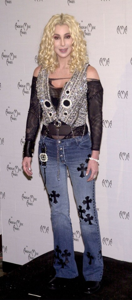 2002 Cher - American Music Award @ Getty