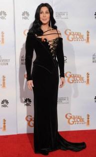2012 Cher - Globo de Ouro @ Getty