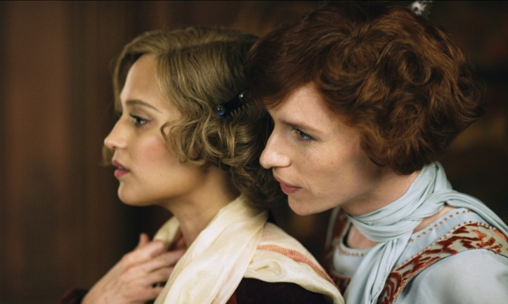 Alicia Vikander and Eddie Redmayne em A Garota Dinamarquesa @ Allstar-Universal Pictures