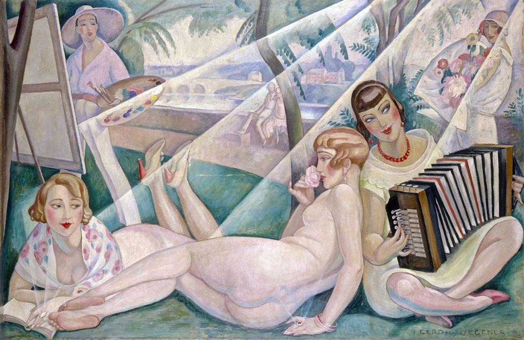 Gerda Wegener's A Summer Day, 1927