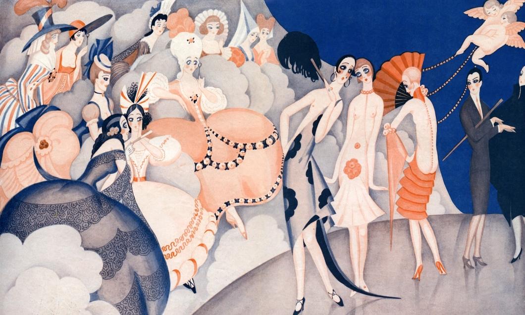 Gerda Wegner - Ilustração - 1925@ Fototeca Storica Nazionale - Getty Images